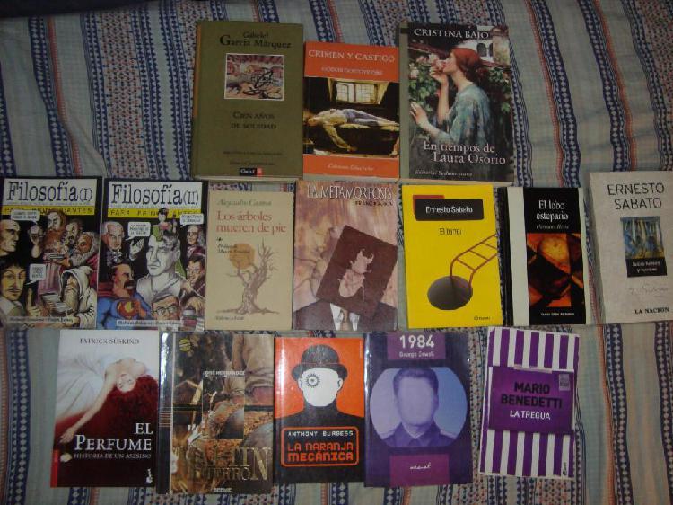 Libros y novelas varias