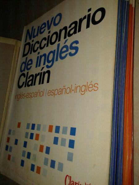 Nuevo diccionario clarin ingles espanol. a encuadernar