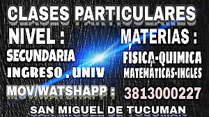 1 clases particulares