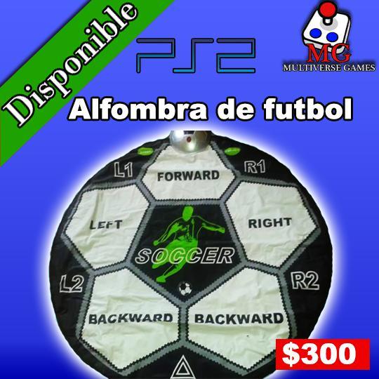 Alfombra de Futbol PlayStation 2 NEGOCIABLE