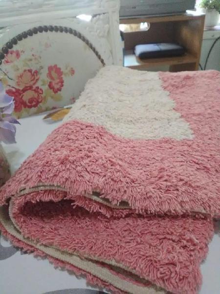 Alfombra de baño 100 algodón Home Studio 76 x 48 cm.
