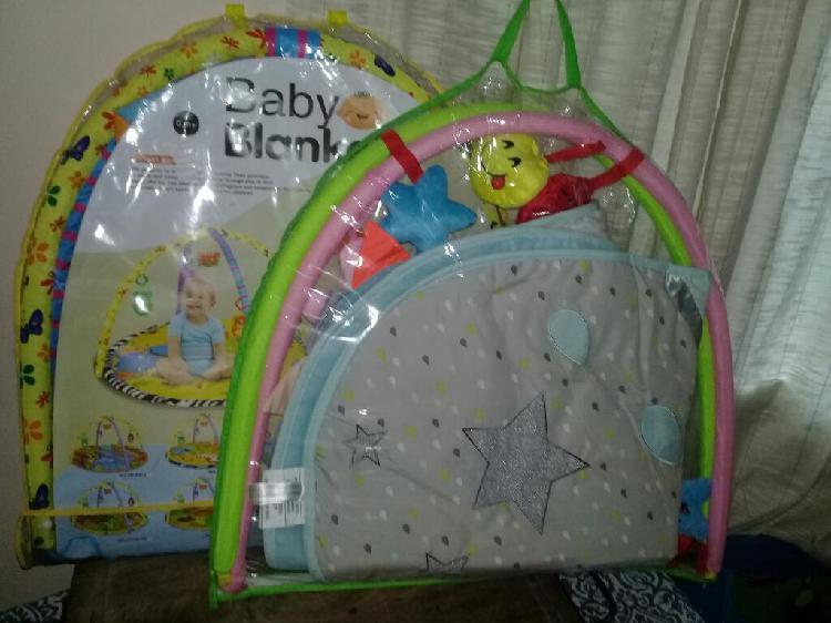 Gimnasio bebé alfombra didáctica