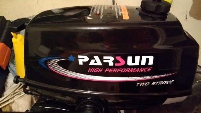 Motor fuera de borda parsun 3,6 hp 2t nuevo factura de