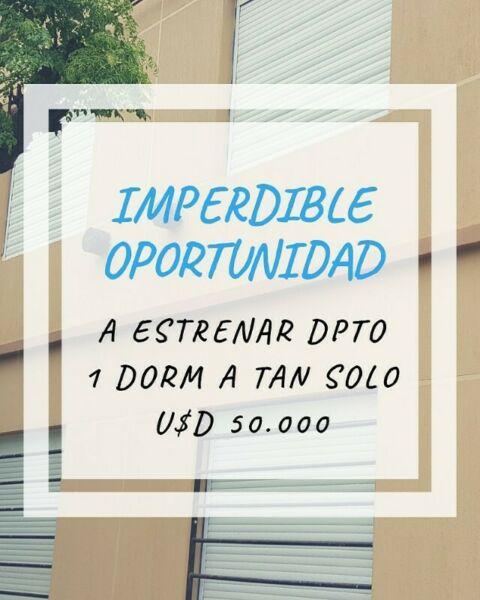 Oportunidad de inversion!! depto vta 1d a estrenar!!