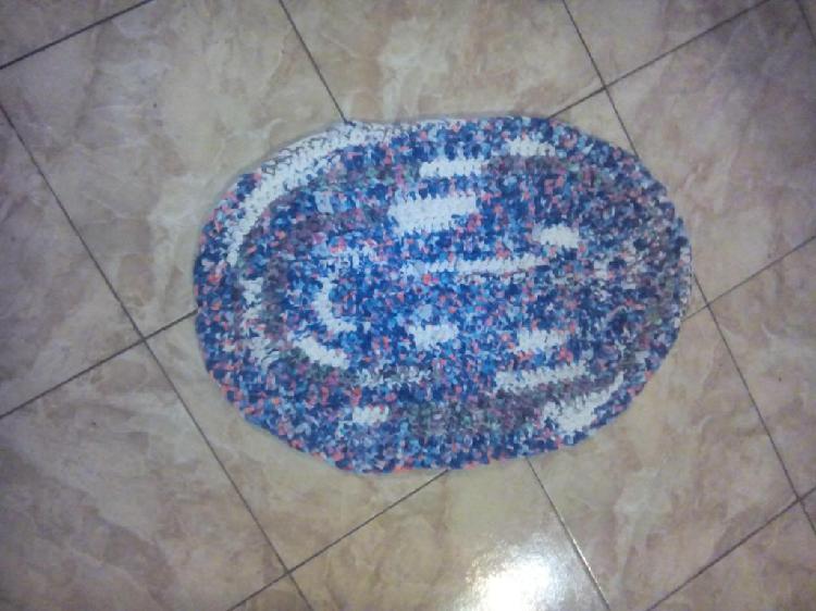 alfombras artesanales tejidas totora $80 c/u