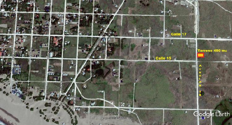 Dueño vende terreno de 450 m2 en balneario reta – tres