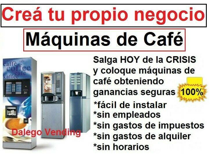 Maquinas automaticas de cafe en grano negocio rentable