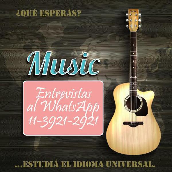 Clases de guitarra criolla personalizadas instituto lomas de