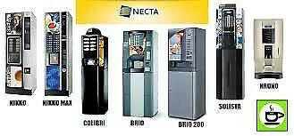 Máquinas expendedoras automáticas de café negocio