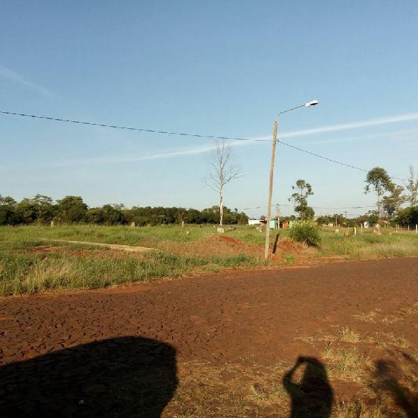 Ref tf253 terreno en zona itambe mini av principal i fenix