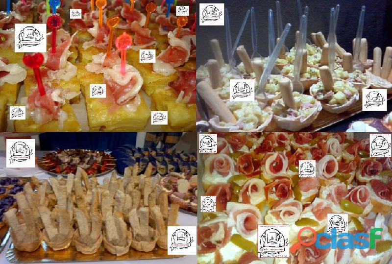 Catering finger food para reuniones y eventos
