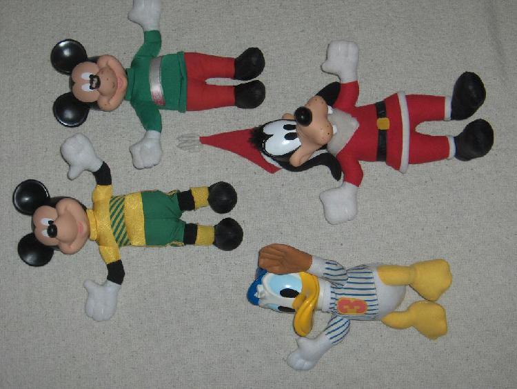 Mickey goofy pato donald muñecos disney muy buenos dfecb68d711