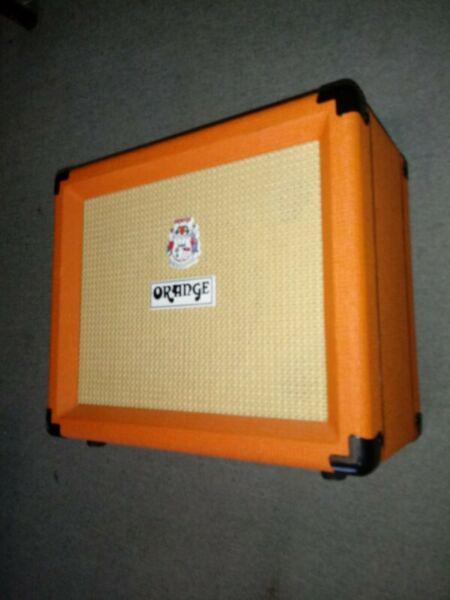 Amplificador combo guitarra orange crush pix cr-20l 20w 12pa