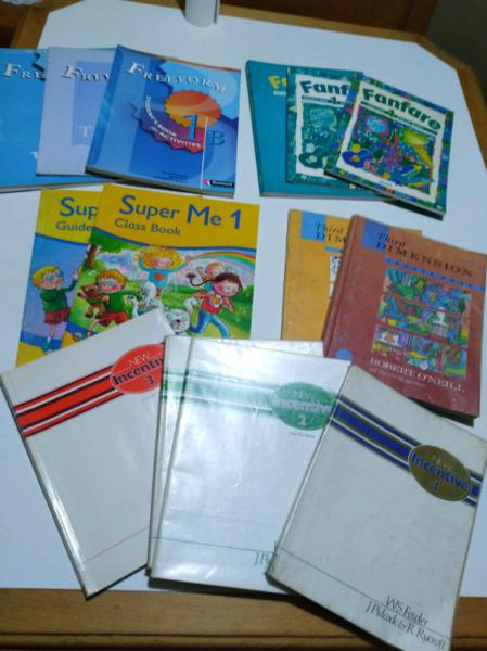 Libros de inglés por lote x 26 unidades. ver fotos
