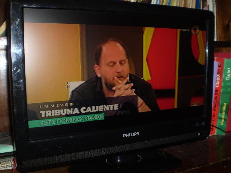 Tv lcd led philips 22 control remoto impecable
