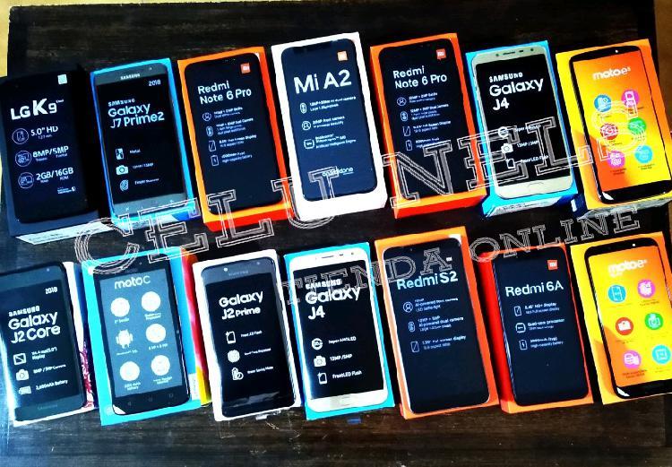 Venta de celulares nuevos liberados