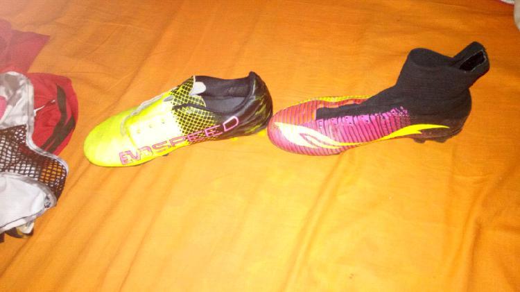Zapatos y botines futbol 7