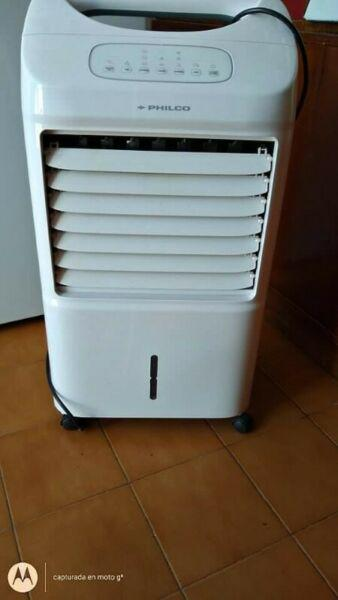 Climatizador aire frio caliente (trabaja con hielo)