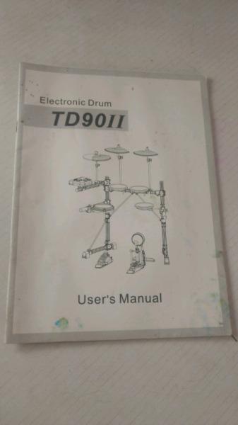Manual de batería electrónica ringway td 90 ll
