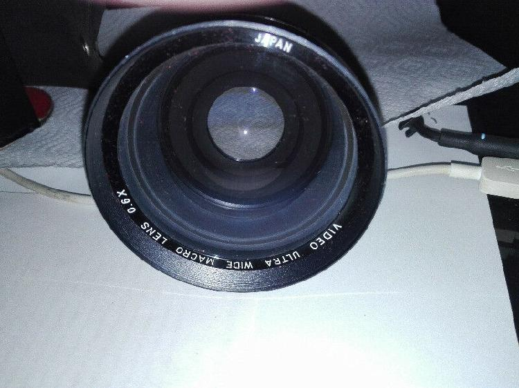 Video ultra wide macro lens 0.6x - olivos