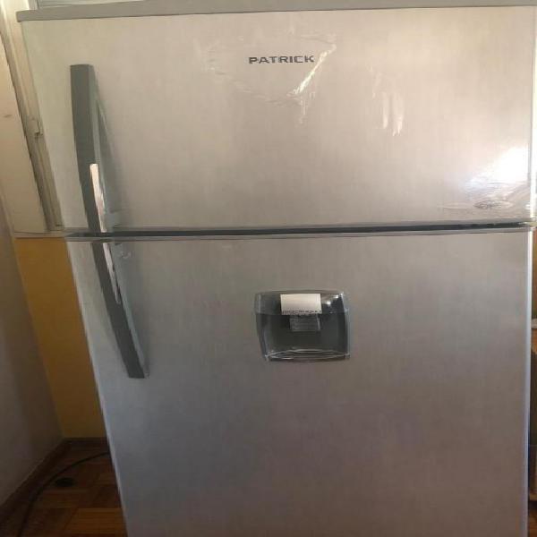 Heladera patrick hpk 350 metal no frost con freezer