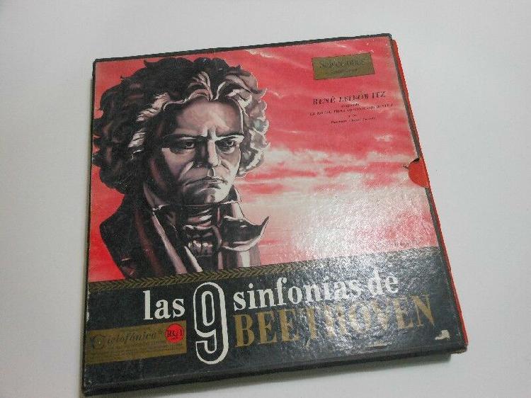 Las 9 sinfonias de beethoven