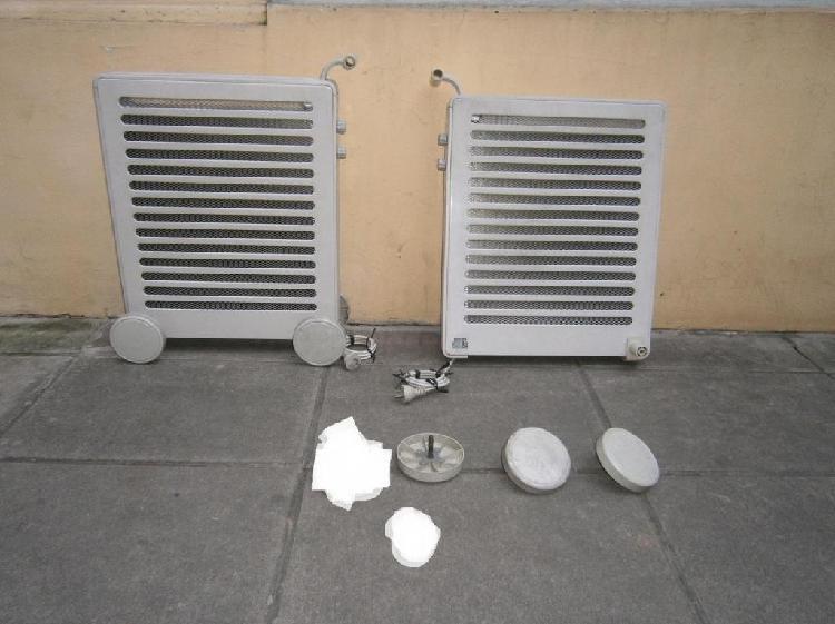 Ruedas de estufa electrolux modelo rmic 09a
