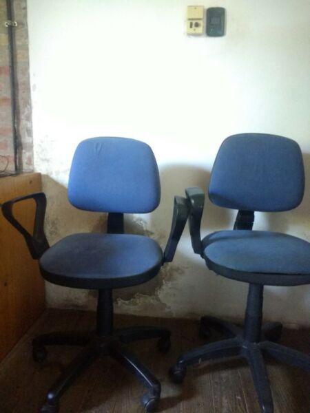 Vendo sillas de oficina