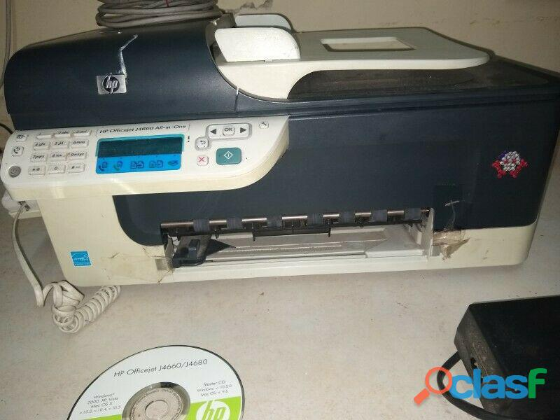 Impresora hp j4660 all in one telefono scaneo fax