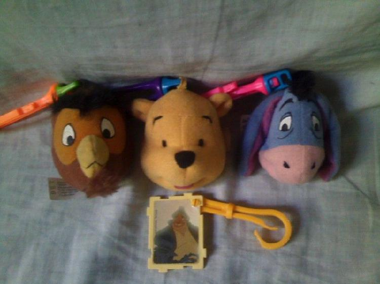 Llaveros de winnie pooh - mc donalds