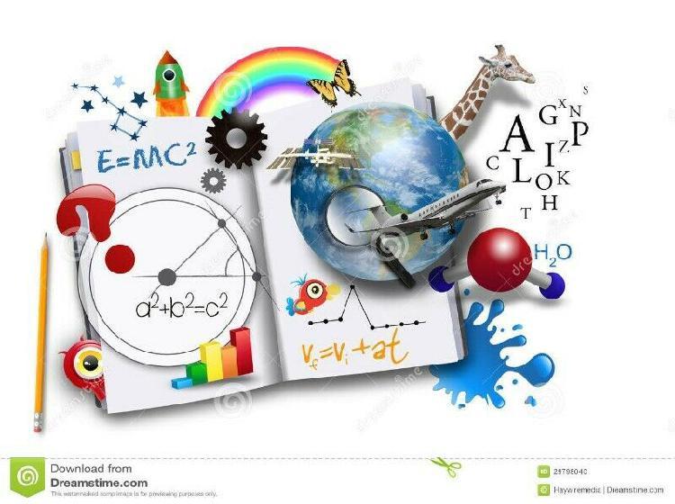 Matematica, fisica y quimica, clases de apoyo