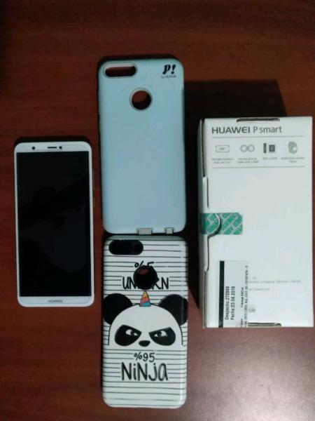 Celular huawei p smart como nuevo. libre de fabrica
