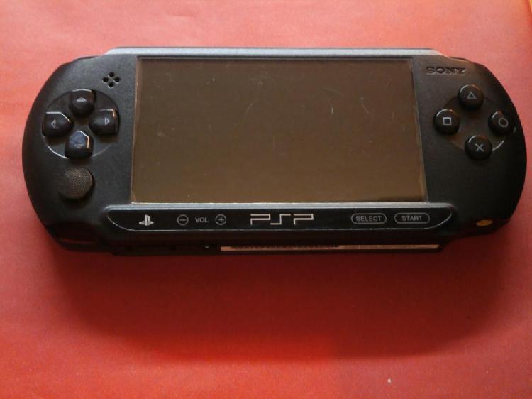 Consola de juegos portátil sony psp e1004 – 2a original
