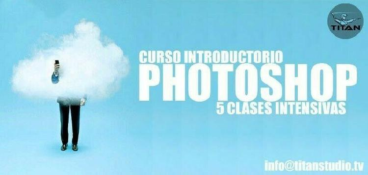 Curso introductorio adobe photoshop.