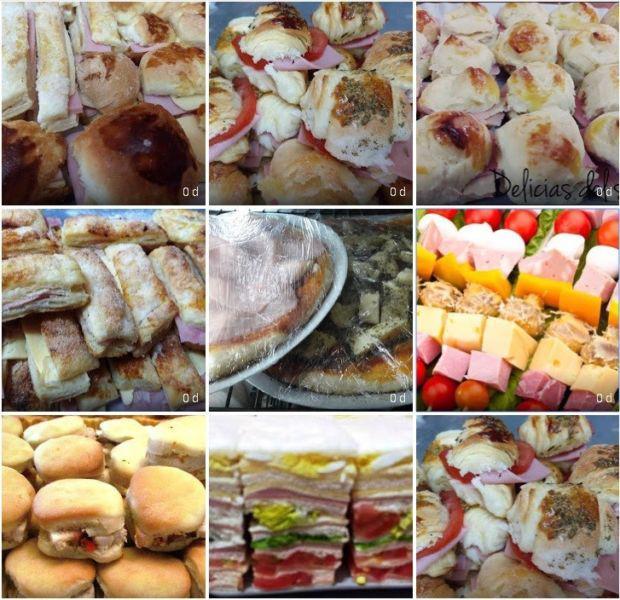 Servicio de lunch catering para 50 personas salado mesa