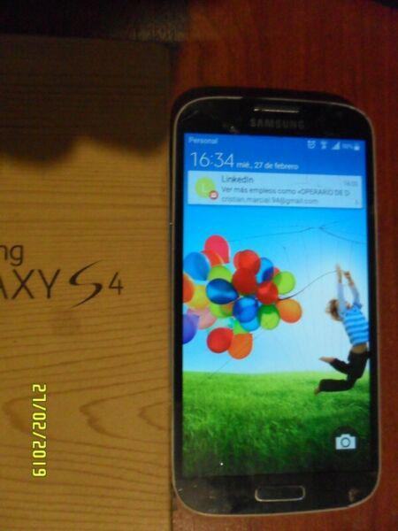 Samsung galaxy s4 i9500 astillado detalle p/ personal