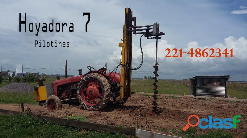 Hoyadora 7 la plata pilotines y gran la plata