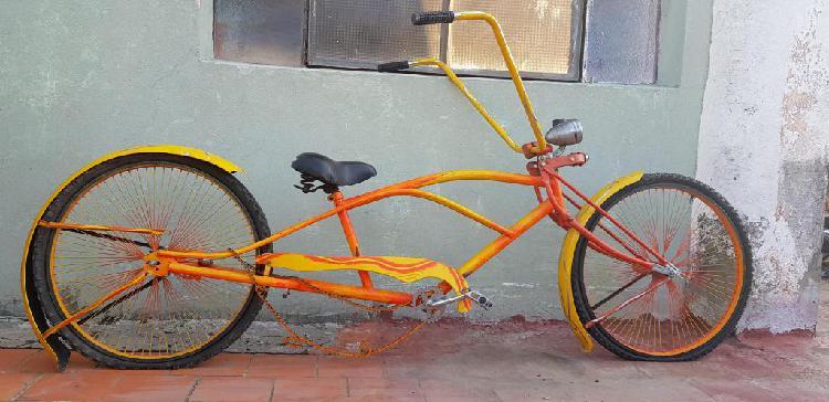 Bicicleta playera chopper unika