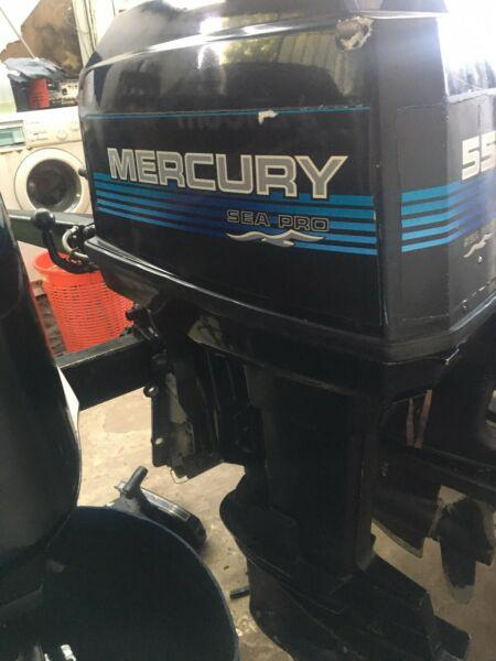 Motor fuera de borda mercury 55 hp