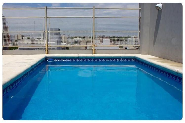 Alquilo temporario en colegiales 3 amb c balcón y piscina,