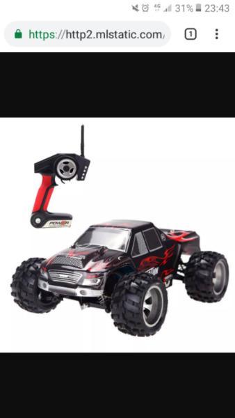 Auto rc bateria electrico