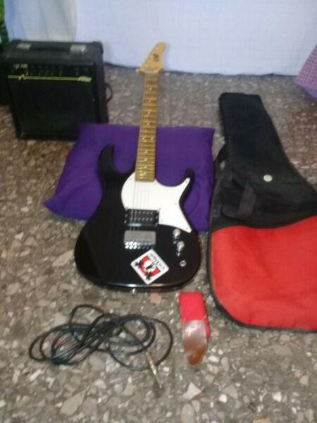 Guitarra electrica esp amplificador