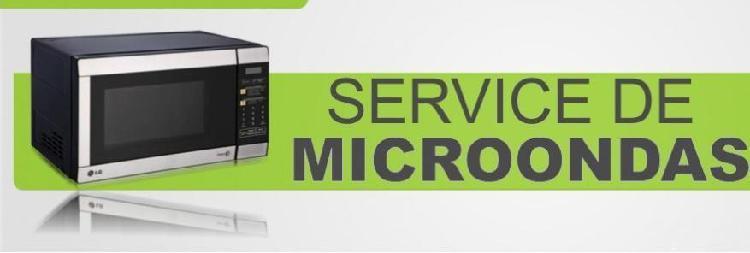Servicio tecnico de microondas