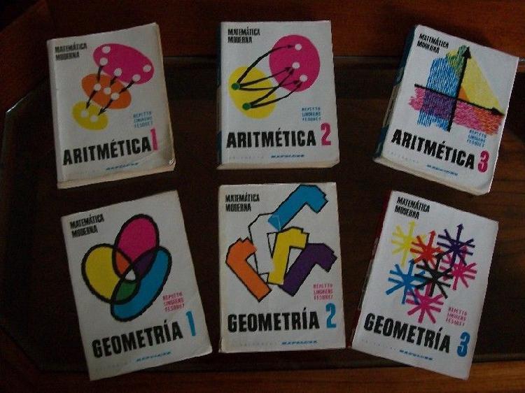 Libros de aritmética y geometría de repetto