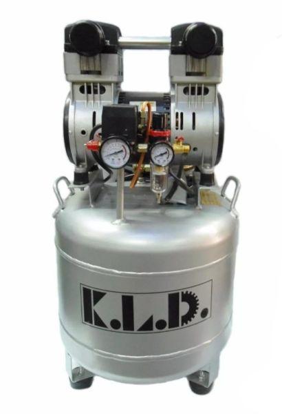 Compresor odontológico carter seco kld 40 l 1,5 hp tanque