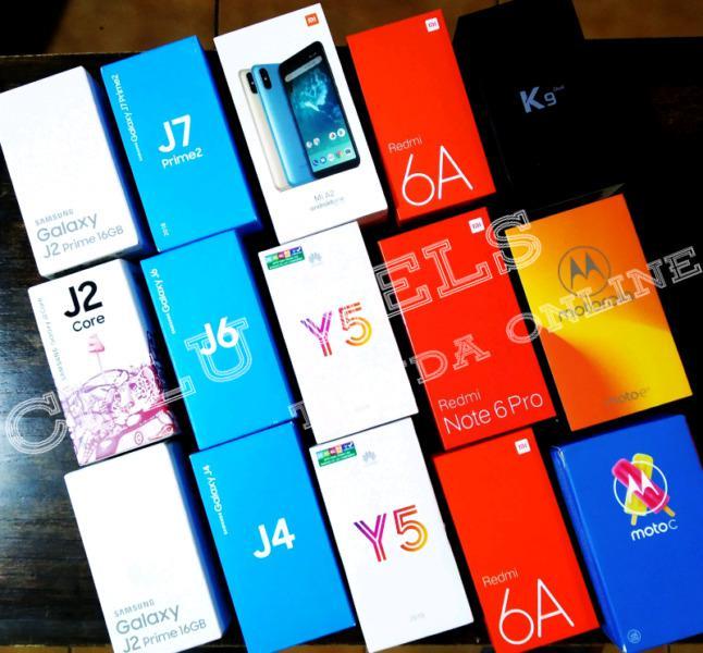 Entrega inmediata celulares en venta nuevos