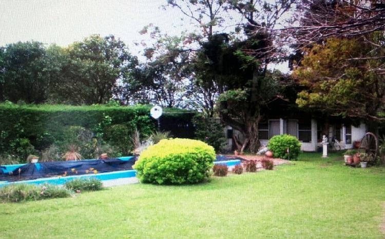 General rodriguez chalet quinta s/lote 900m2 c/piscina apto