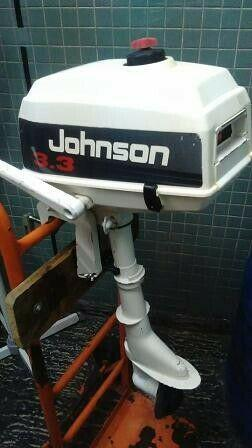 Motor johnson 3.3 hp - pata corta - impecable !!!