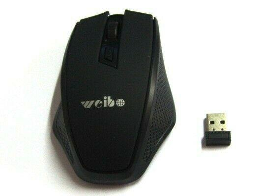 Mouse inalámbrico marca weibo, igual a nuevo, solo lo usé
