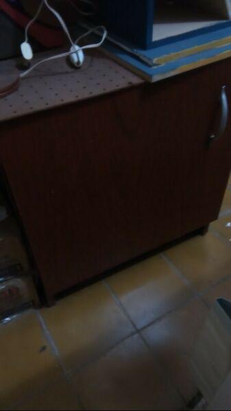 Mueble de melamina para oficina